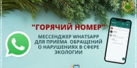 В Ингушетии заработала горячая линия в мессенджере WhatsApp по экологическим правонарушениям — Ингушетия